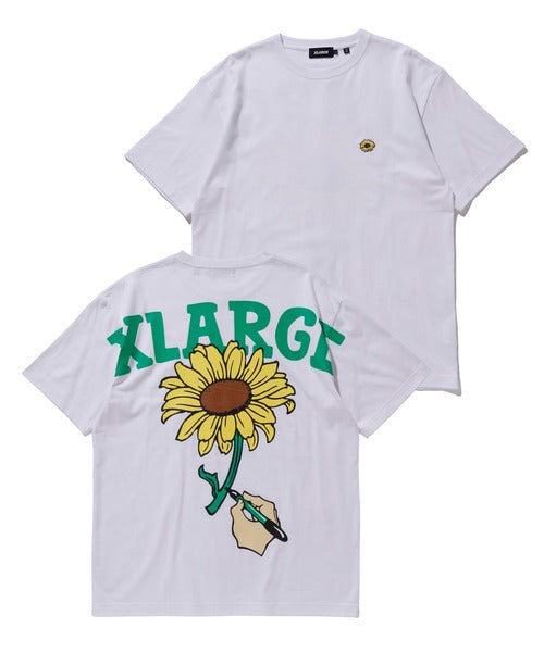XLARGE - S/S Tee Sunflower - White