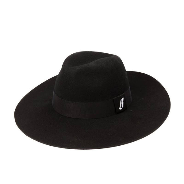 Billionaire Boys Club - Wide Brim Felt Hat - Black