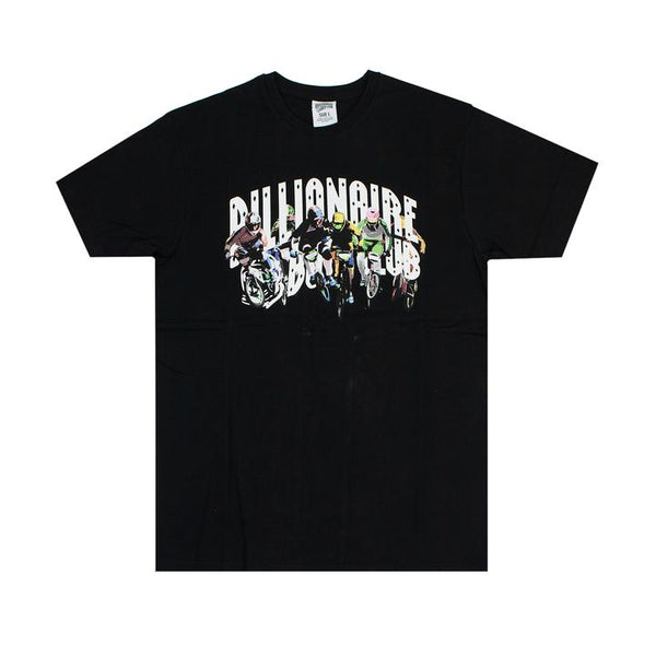 BILLIONAIRE BOYS CLUB - BB BMX ARCH TEE - BLACK
