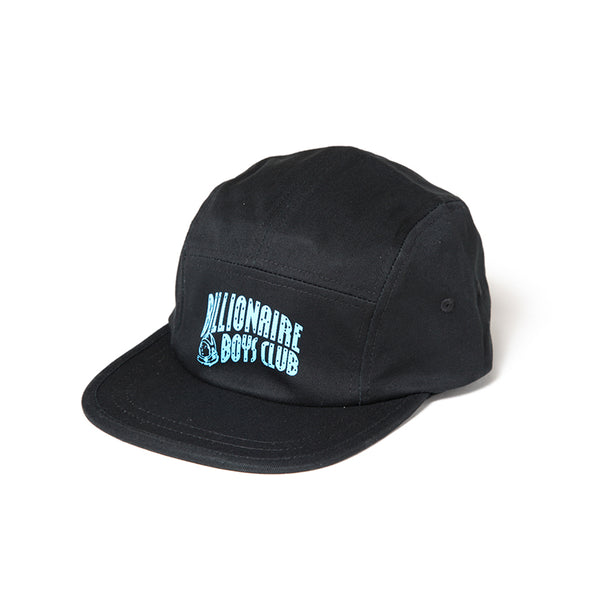 BILLIONAIRE BOYS CLUB - ARCH LOGO 5 PANEL CAP - BLACK