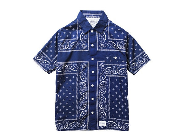 FUCT SSDD - Bandana Shirt - Shirt - THIS IS ALLEY