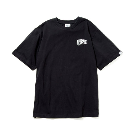 BILLIONAIRE BOYS CLUB - SMALL ARCH LOGO TEE - BLACK
