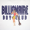 BILLIONAIRE BOYS CLUB - BB RACING GIRL T-SHIRT - WHITE