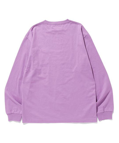 XLARGE - L/S Pocket Tee Square OG - Purple
