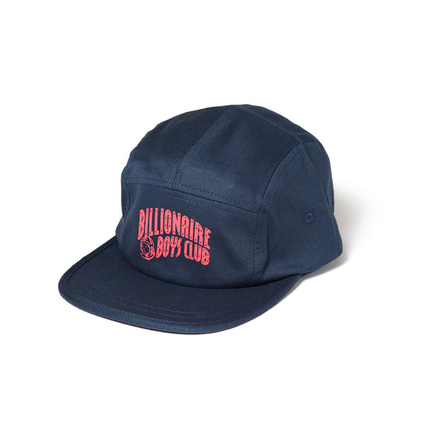 BILLIONAIRE BOYS CLUB - ARCH LOGO 5 PANEL CAP - NAVY