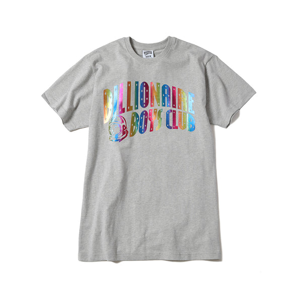BILLIONAIRE BOYS CLUB - FOIL ARCH T-SHIRT - HEATHER GREY
