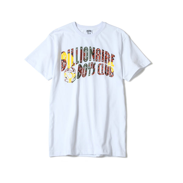 BILLIONAIRE BOYS CLUB - BB CAMO ARCH SS TEE - WHITE