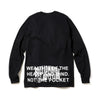 BILLIONAIRE BOYS CLUB - MANTRA L/S T-SHIRT - BLACK