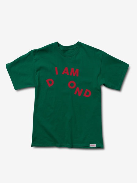 Diamond Supply Co - I Am Tee - Forest Green