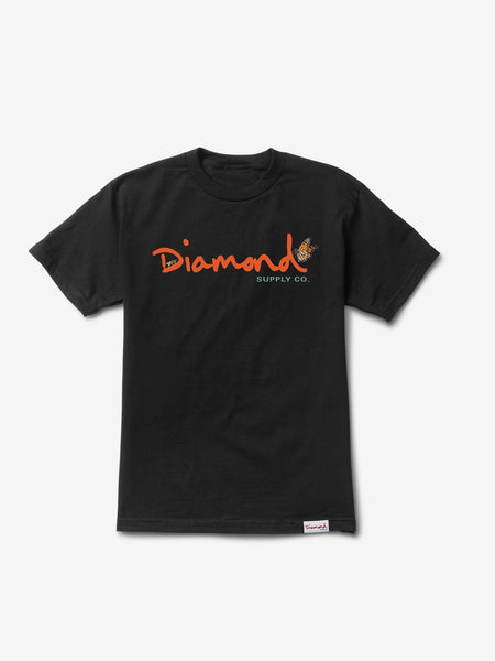 Diamond Supply Co - Paradise OG Script Tee - Black