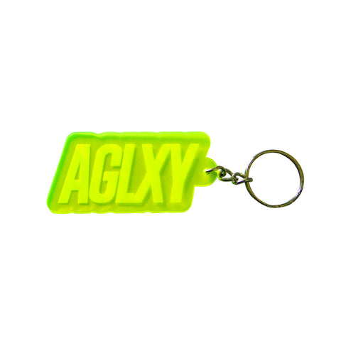 AGELESS GALAXY - AGLXY Keychain 007 - Yellow - ACAG053