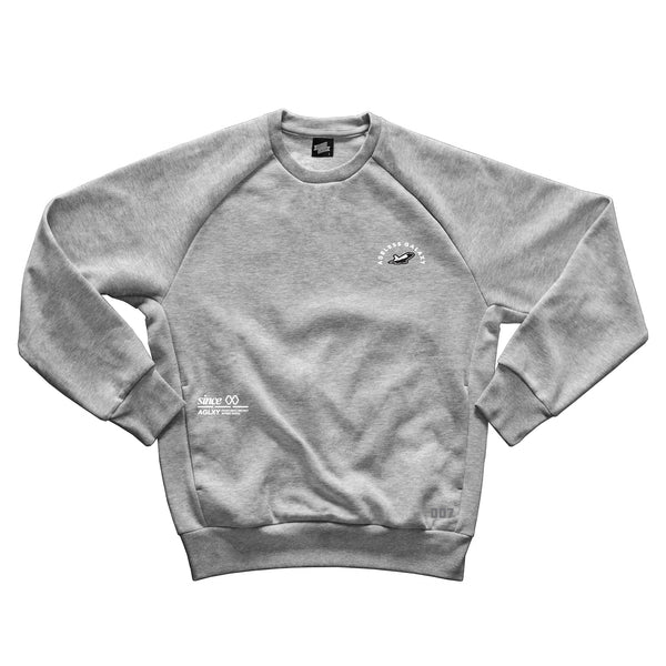AGELESS GALAXY - L750 Sweater 007 - Heather Grey - JAAG008