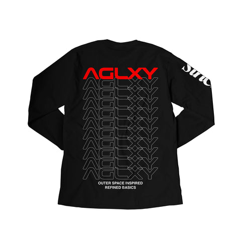 AGELESS GALAXY - AAGGLLXXYY LS 007 - Black - TSAG045 - THIS IS ALLEY