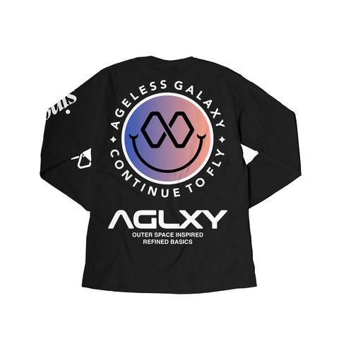 AGELESS GALAXY - GOOD VIBES SINCE LS 008- BLACK - TSAG063