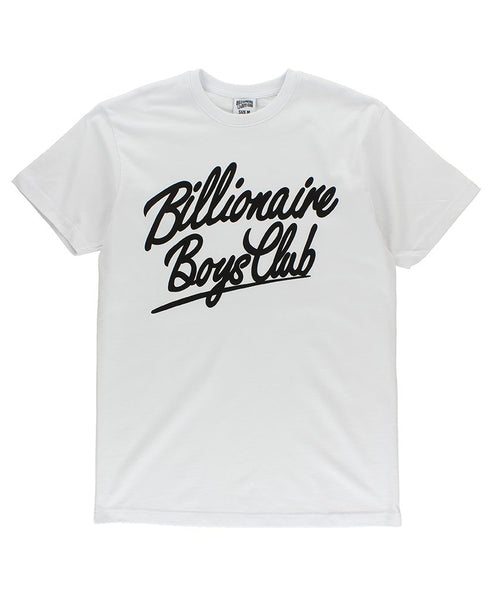 BILLIONAIRE BOYS CLUB - SPACE KING TEE - WHITE