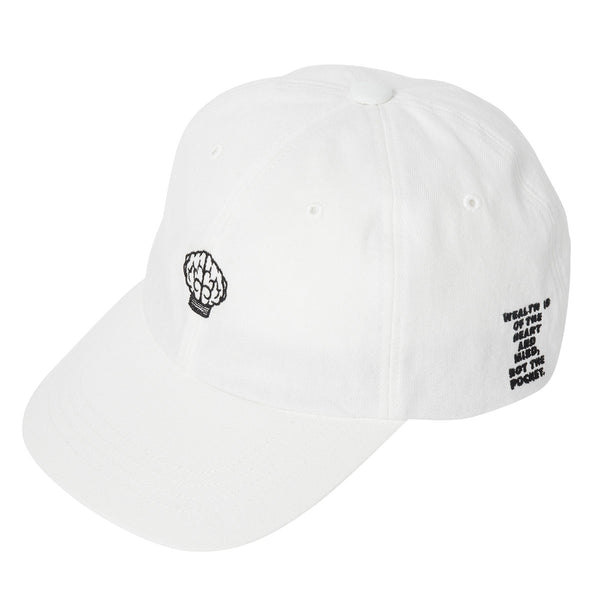 Billionaire Boys Club - Mind Logo Strapback - White