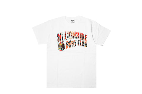 BILLIONAIRE BOYS CLUB - LICHTENSTEIN TEE - WHITE
