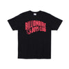 BILLIONAIRE BOYS CLUB - BB CLASSIC ARCH TEE - BLACK