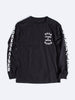 Born X Raised - Localism Long Sleeve Tee - Black - THIS IS ALLEY