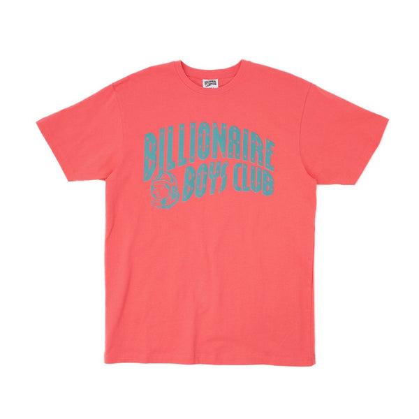 BILLIONAIRE BOYS CLUB - BB CLASSIC ARCH TEE - S.CORAL