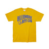 BILLIONAIRE BOYS CLUB - BB CLASSIC ARCH TEE - SUNFLOWER
