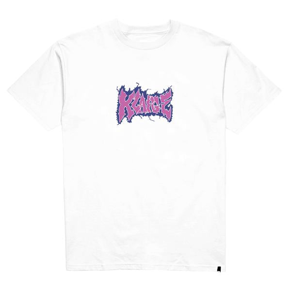 XLARGE - CHARGED SS TEE - WHITE - THIS IS ALLEY