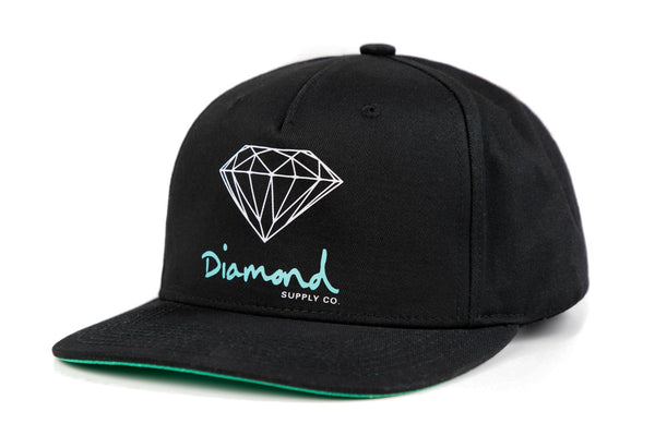 Diamond Supply Co - Core OG Sign Snapback - Black