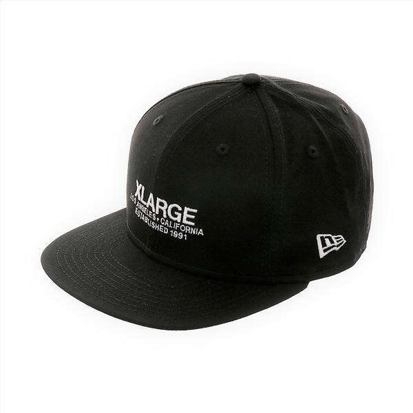 XLARGE - ESTABLISHED HAT - BLACK