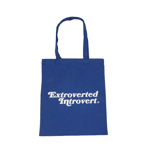 Essential Royal Blue Shopping Tote - extrovertedintrovert