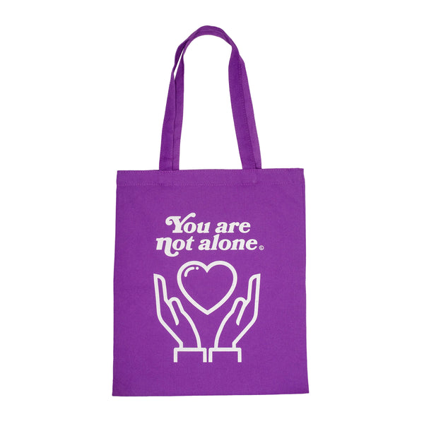 Essential Violet Purple Shopping Tote - extrovertedintrovert