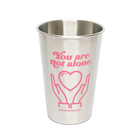 16oz Stainless Steel Pint - extrovertedintrovert