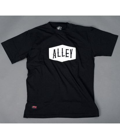 ALLEY - Flag Tee - Black