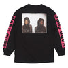 FUCT - Hardcore Long Sleeve Tee - Black - THIS IS ALLEY
