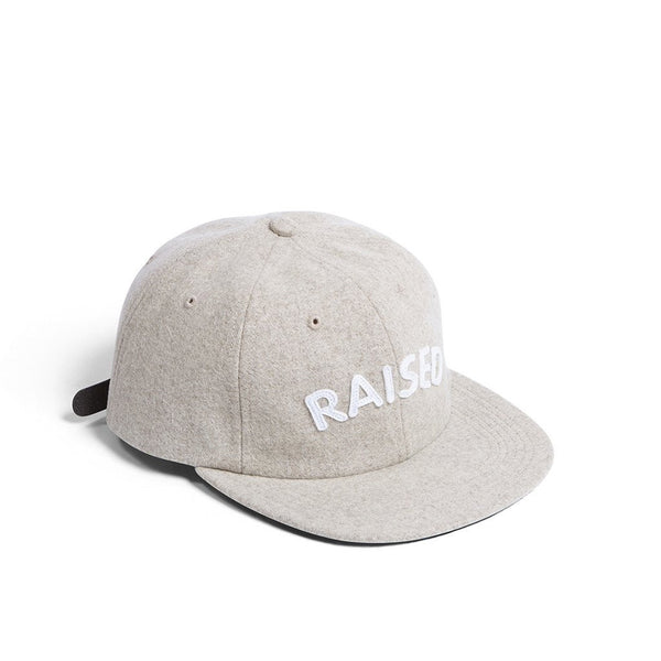 Raised By Wolves Polo Cap - Oatmeal