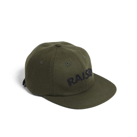 Raised By Wolves Polo Cap - Olive