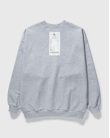 GROCERY - Reversible Sweatshirt - Heather Grey