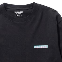 XLARGE - TROPICAL LOVE SS TEE - BLACK