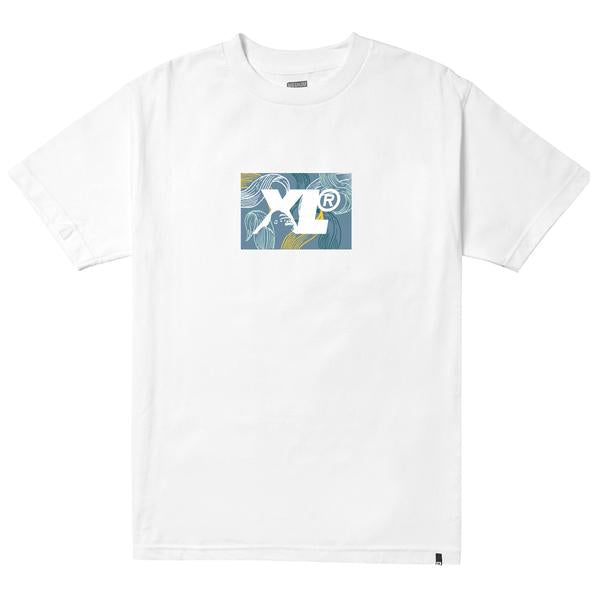 XLARGE - LEAF XL TEE - WHITE