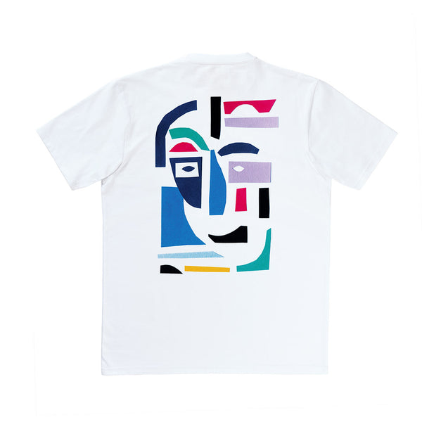 Polar Skate Co. - Cut Out Leftovers tee - White
