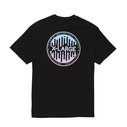 X-LARGE - Collapse Tee - Black