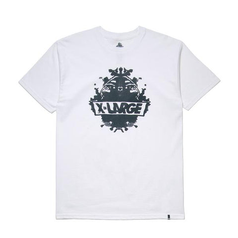 XLARGE - RORSCHACH SS TEE - WHITE - THIS IS ALLEY