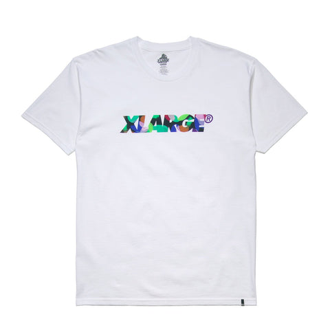 XLARGE - TAB SS TEE - WHITE - THIS IS ALLEY