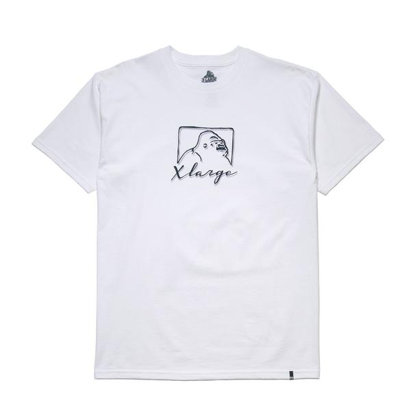 XLARGE - SIGNATURE SS TEE - WHITE - THIS IS ALLEY