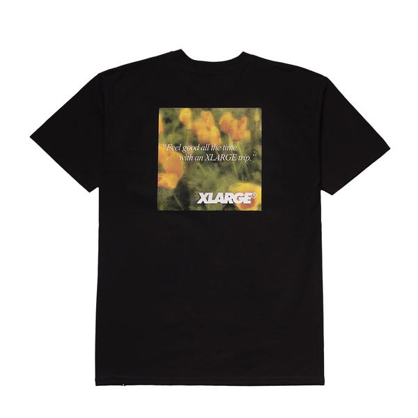 XLARGE - SIDE EFFECT TEE - BLACK