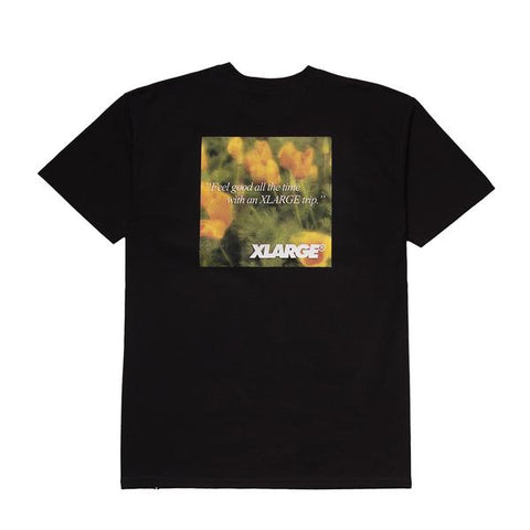 XLARGE - SIDE EFFECT TEE - BLACK - THIS IS ALLEY