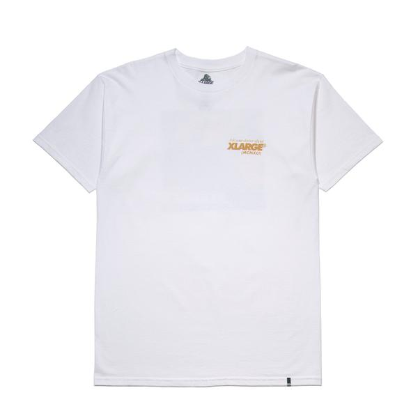 XLARGE - SIDE EFFECT TEE - WHITE