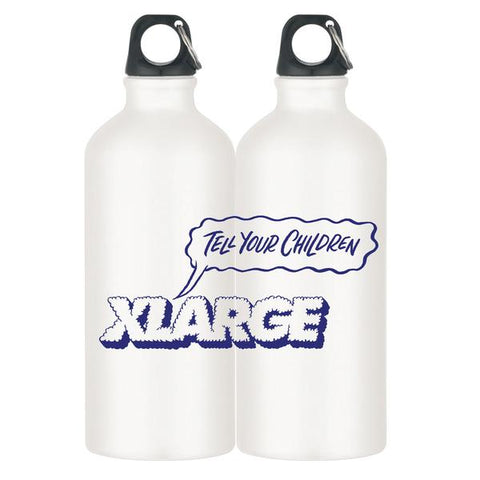 XLARGE - TELL YOUR CHILDREN X XLARGE WATER BOTTLE - WHITE