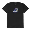 XLARGE - TELL YOUR CHILDREN X XLARGE GANG SS TEE - BLACK