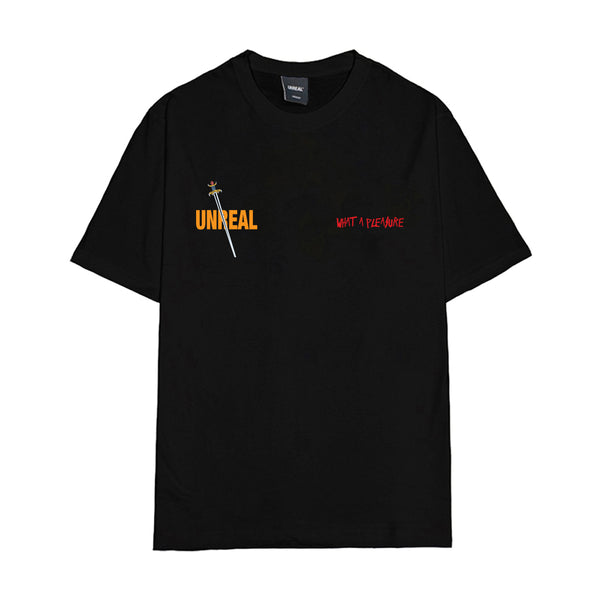 Unreal Clubs - Sword Bear Tee - Black