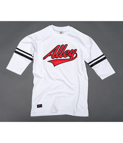ALLEY - OG 53 Raglan - White